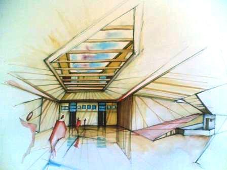 طرح معماری 2 - دانشکده معماری